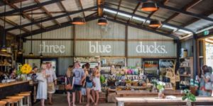 Image of Three Blue Ducks Cafe, Ewingsdale