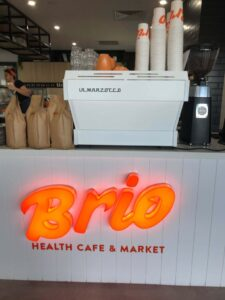 Image of Sign for Brio Emporium, Oasis, Broadbrach