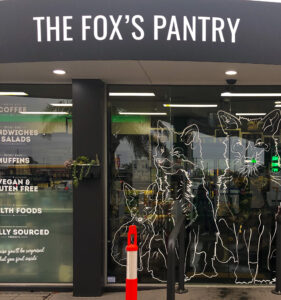 Front store image of the Fox's Pantry at BP Tugun